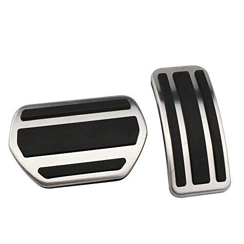 MPOQZI Car Pedals Gas Brake Pedal Non-Slip Pads,Fit for Peugeot 207 301 307 208 2008 308 408 for Citroen C3 C4 for DS 3 4 6 DS3 DS4 DS6