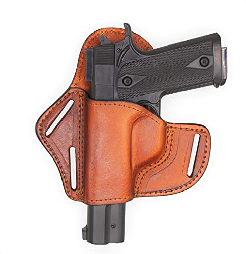 Back Country Leather Pistol Holster-Fits All 1911 Gun Models...