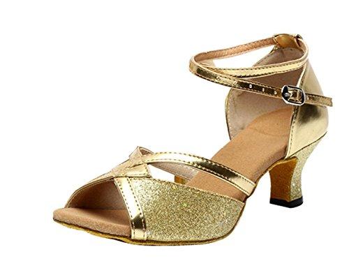 Mujer Zapatos Tacón Alta Salsa Bachata Latinos Baile Salon Sandalias Latin Shoes