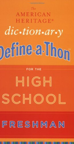The American Heritage Dictionary Define-a-Thon for the High SchoolFreshman (English Edition)
