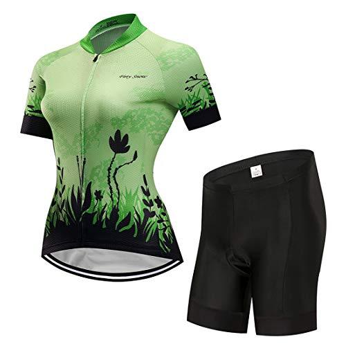 mountain bike vestiti X-Labor Set composto da maglia da ciclismo da donna