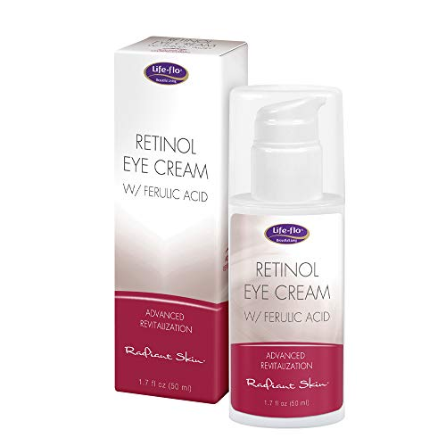 Life-flo Retinol Eye Cream with Ferulic Acid | Advanced Formula Reduces Visible Signs of Aging Around the Eyes | 1.7oz