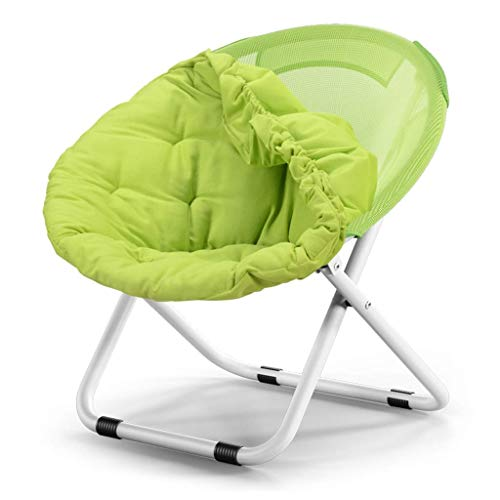 Household Lazy Lounge Tuinstoel, opvouwbare stoelen, duurzaam canvas, buitenstoel, draagbaar 80*51*76CM Blauw