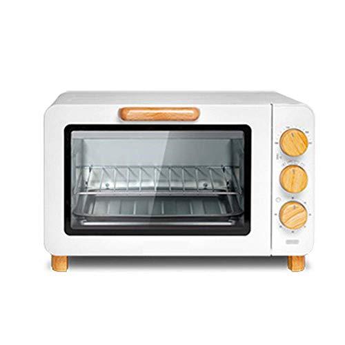 KAUTO Mini Four de 15 litres, Four Grill électrique, Four à Pizza, contrôle Intelligent de la température, minuterie de 60 Minutes, idéal pour Les caravanes et Les Appartements d'étudiants