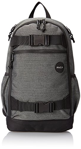 RVCA Men's Push Skate Backpack, Dark Charcoal, One Size