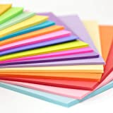 Premium quality 1000 sheets of 80 GSM, Assorted Colors in each Pack. Suitable for inkjet & Laser printer, photocopying, offset printing etc Suitable for presentation, invitation, greetings, special event announcements, handicrafts, scrap-bookings Ide...