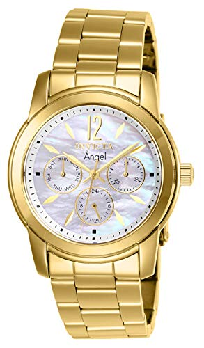 Invicta Women's Angel 0465 Gold Stainless-Steel Quartz Dress Watch