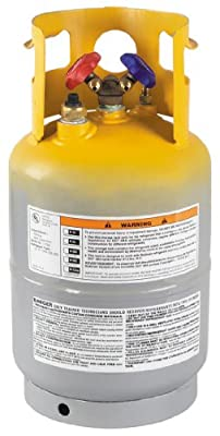 Robinair (17605) Refrigerant Tank with Float Switch - 30 lbs.