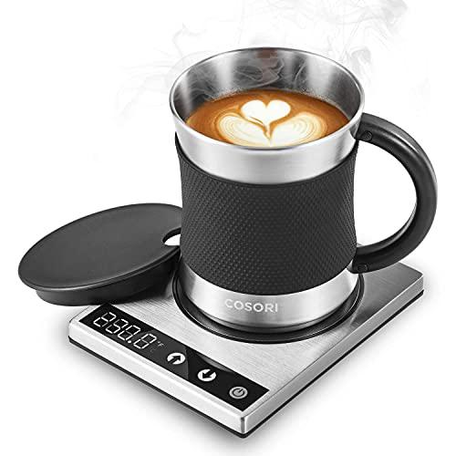 COSORI Coffee Mug Warmer & Mug Set,Electric...