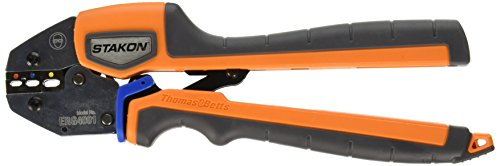 Thomas & Betts ERG4001 Sta-Kon Ergonomic Hand Tool for Crimping RA, RB and RC Insulated Terminals, Splices and Disconnects