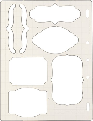 Fiskars 01-005266 Bracket and Journal Shape Template, Color May Vary