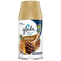 Glade Automatic Spray Refill Cashmere Woods, Fits in Holder for Up to 60 Days of Freshness, 6.2 oz,