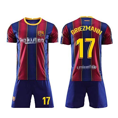 WQJIE # 17 Fußballanzüge, Fußballtrainingsanzüge für Männer, Kurzarm-Fußballanzüge, Fußballuniformen und Kurze Jugendkleidung-26