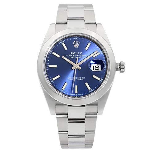Rolex Datejust 126300BLSO - Reloj para hombre con esfera azul 41