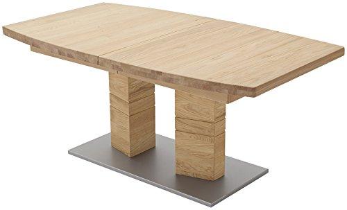 Robas Lund, Tisch, Esszimmertisch, Cuneo B, Wildeiche/Massivholz, 140 x 90 x 77 cm, CUN14AWE