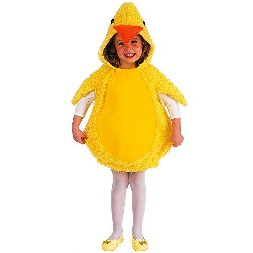 Carnival Toys 61018–Pollito, Disfraz para niños 2–3AñOS