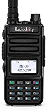 Radioddity GM-30 GMRS Handheld Radio, 5W Long Range Two Way Radio, GMRS Repeater Capable, with Dual Band NOAA Scanning & Receiving, SYNC, for Jeep Off Road Overlanding