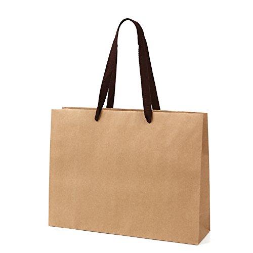 高級 手提げ袋 紙 Kクラフト K-400 1セット10枚 400x110x300