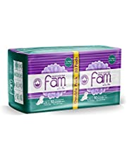 Fam Sanitary Napkins, 20 Pieces