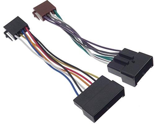 ISO Câble Adaptateur Radio pour Ford Galaxy Seat Alhambra VAG Sharan
