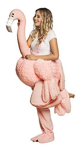 Boland 88093 kostuum op een flamingo, roze, één maat