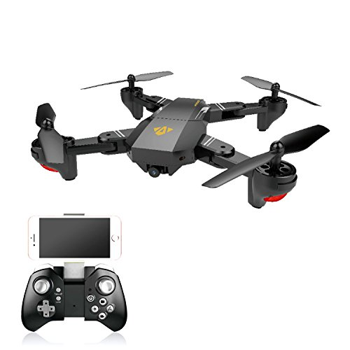 XS809HW Foldable RC Quadcopter Drone RTF WiFi FPV 2MP Camera Multirotor