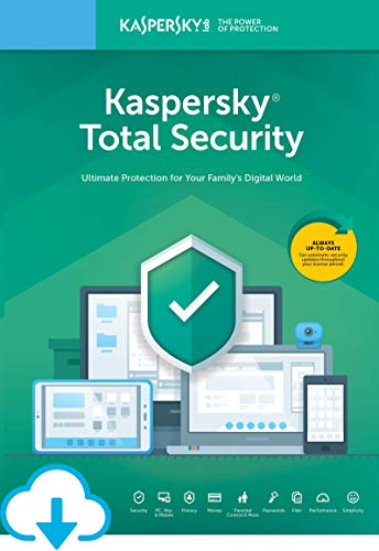 Kaspersky Total Security 2020 | 5 Devices | 1 Year [Download]