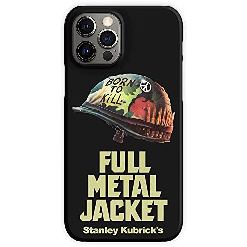 Cajas de teléfono Pure Clear Films Metal War Full Jacket Vietnam Kubrick 2001 Movies Stanley Divertido Parachoques para iPhone Samsung Xiaomi Redmi Note 10 Pro/9/8/9A/Poco M3 Pro/X3 Pro Funda