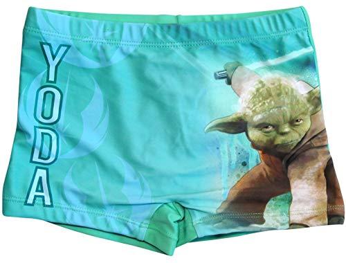 Star Wars Badeshorts Yoda Jungen Badehose (Grün, 104-110)