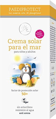 PAEDIPROTECT Crema solar para el mar - Niños y Adultos (1x75ml) Factor de protección solar 50 +