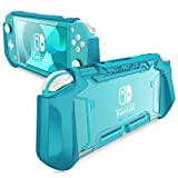Mumba Grip Case for Nintendo Switch Lite, [Blade Series] TPU Protective Portable Cover Accessories Compatible with Switch Lite Console 2019 Release (Peacock)
