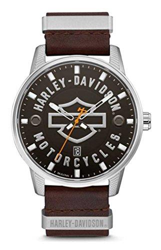 orologio solo tempo uomo Harley Davidson sportivo cod. 76B178