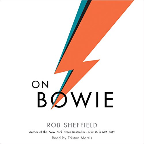 On Bowie audiobook cover art