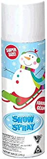 amscan Winter Wonderland Christmas White Snow Spray | Party Decoration