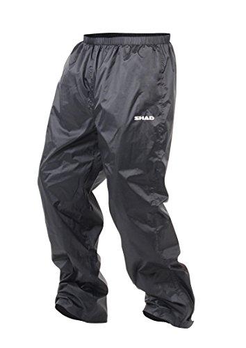 Shad X0SR20M Pantalón de Lluvia, Negro, Talla M