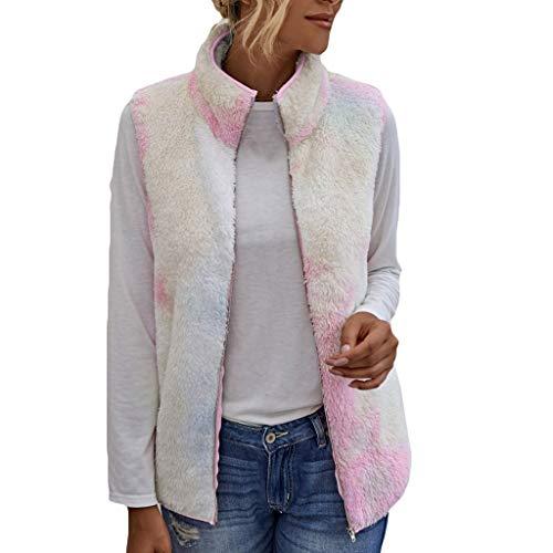 ELUP Women's Denim Jacket Long Sleeve Button Fleece Jean Jackets Warm Parka Coats Pink