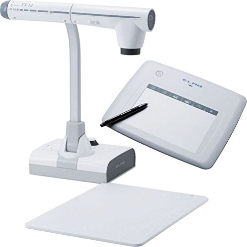 Elmo Classroom VISION Bundle system of the TT-12 Document Camera and CRA-1 Wireless Tablet