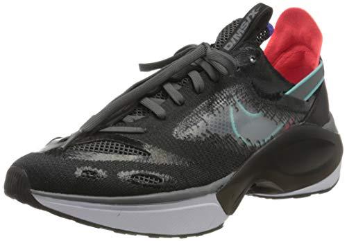 Nike N110 D/ms/x, Zapatillas para Correr para Hombre, Black/Dark Grey/Red Orbit/Rush Violet, 41 EU