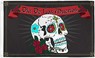Day of The Dead Polyester Flag 3 X 5ft-(FI)