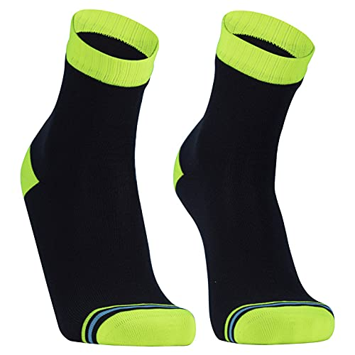 Dexshell Ultralite Waterproof Socks, Hi-Vis Yellow, Large