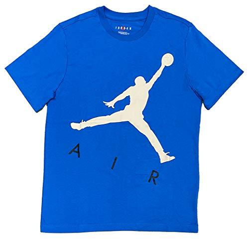 Nike Jordan Jumpman Air HBR - Camiseta, color azul Señal Blue/Beach L