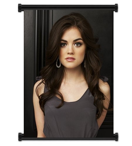 Pretty Little Liars TV Show Lucy Hale Fabric Wall Scroll Poster (32' x 42') Inches