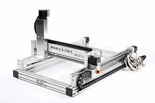 CNC-frees 720x420mm met kogelschroefdraad