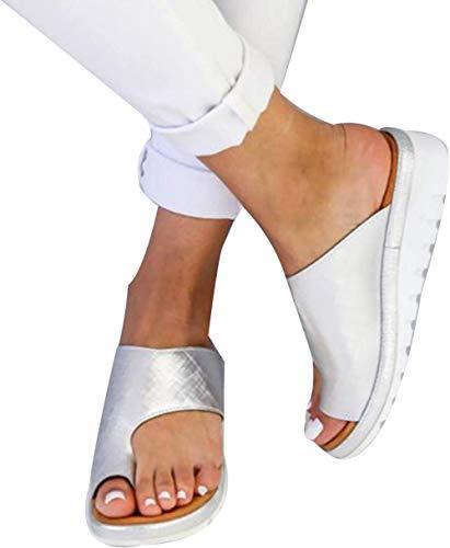KIDsstz Damen Sommer Big Toe Fußkorrektur Sandale Frauen Bunion Corrector Schuhe Sommer Strand Reise Schuhe Pantolette Big Toe Hallux Valgus Für Die Behandlung