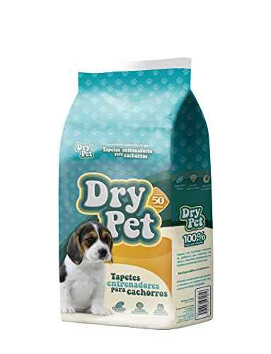 Dry Pet Tapete Entrenador (Pads), 50 Piezas