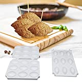 Meatball Mold, Durable DIY Plastic Meatball Mould Kitchen Cooking Tools, Meatball Maker for Making Fried Kibbeh, Manual Kibbeh Meatloaf Maker Press Meat Processor Cooking Gadgets