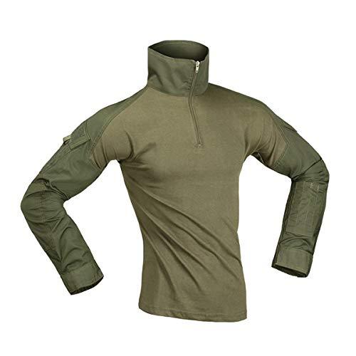 Combat Shirt Invader Gear (Olive Drab) - L, OLIVE DRAB