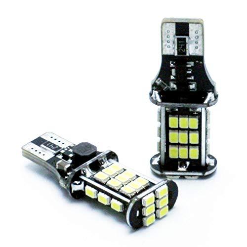 G-V 2X Bombillas LED T15 W16W A. A1 Sportback 8XA 8XF A4 8W2 B9 Avant 8W5 Allroad 8WH A5...