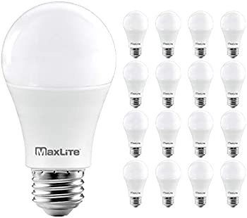 16-Pack MaxLite A19 100W Equiv Dimmable LED Bulb