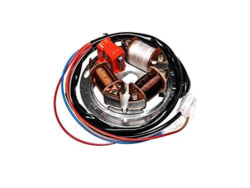 FEZ Grundplatte 8305.2/4-100, 12V Elektronik (35/21W Bilux) - für Simson S51, S70